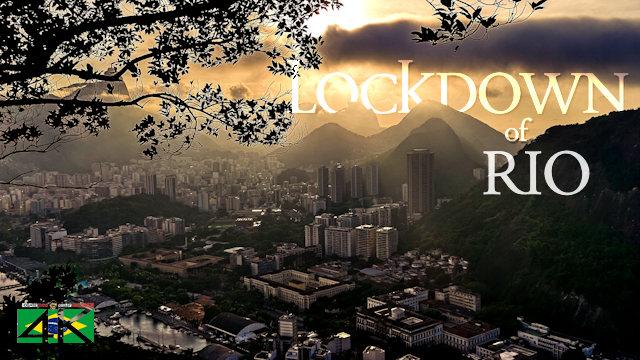 【4K】Lockdown of Rio de Janeiro »20 Min | BRAZIL | April 19, 2020 | Cinematic Wolf Aerial™ Drone Film