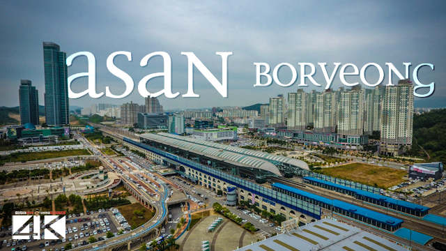 【4K】Asan and Boryeong from Above - SOUTH KOREA 2020 | Cinematic Wolf Aerial™ Drone Film