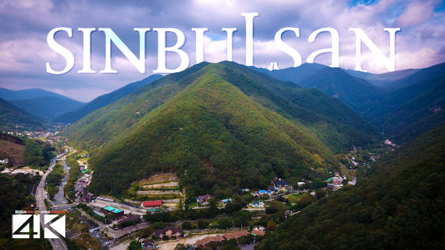 【4K】Sinbulsan and Ulsan from Above - SOUTH KOREA 2020 | Cinematic Wolf Aerial™ Drone Film