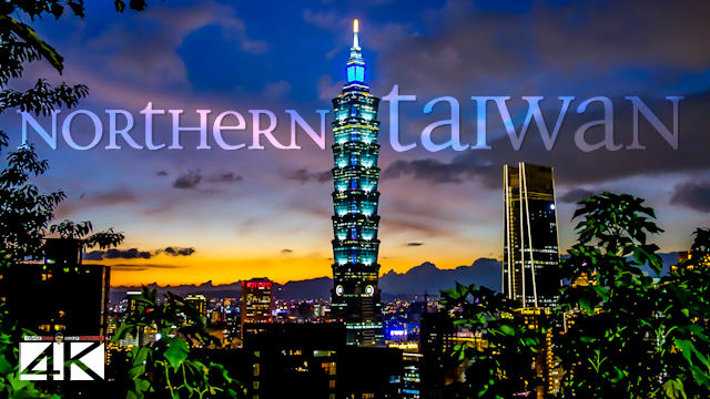 【4K】The Nature of Northern Taiwan from Above - TAIWAN 2020 | Cinematic Wolf Aerial™ Drone Film