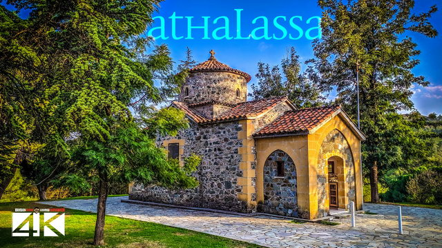【4K】Sunset in Athalassa National Park from Above - CYPRUS 2020 | Cinematic Wolf Aerial™ Drone Film
