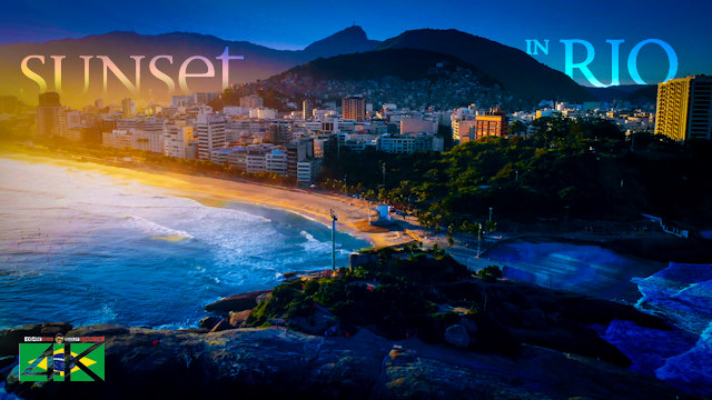 【4K】When the Sun goes down in Rio de Janeiro 2020 | Cinematic Wolf Aerial™ Drone Film