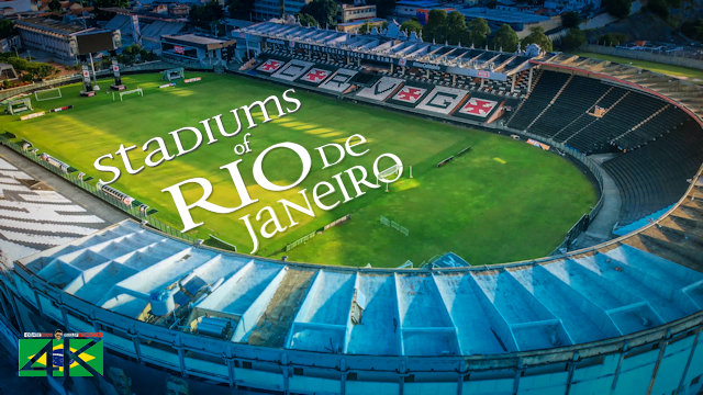 【4K】The Stadiums of Rio de Janeiro from Above - BRAZIL 2020 EXTENDED | Cinematic Wolf Aerial™ Drone