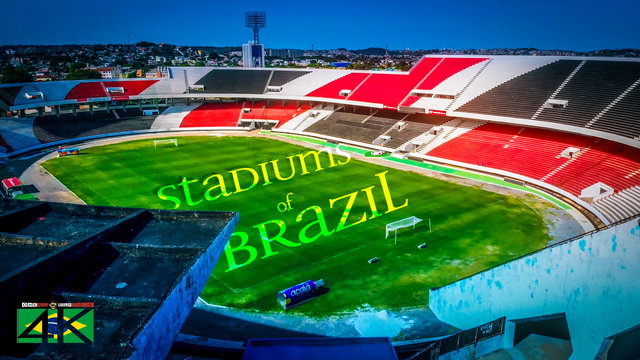 【4K】The Stadiums of Brazil from Above | 2020 EXTENDED | Cinematic Wolf Aerial™ Drone