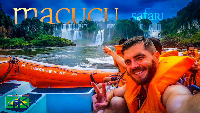 【4K】Macucu Safari Boat Action - Foz do Iguacu (BRAZIL) 2020 | UltraHD Travel Video