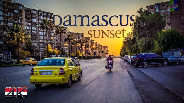 【4K】Driving at Sunset through Damascus (Syria) | 2020