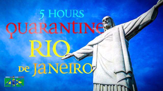 【4K】5 HOURS | Quarantine in Rio de Janeiro - BRAZIL 2020 | Cinematic Wolf Aerial™ Drone Film