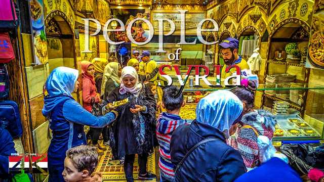 【4K】Virtual Walking Tour | The People of Syria - Visiting DAMASCUS 2020 | UltraHD Travel Video