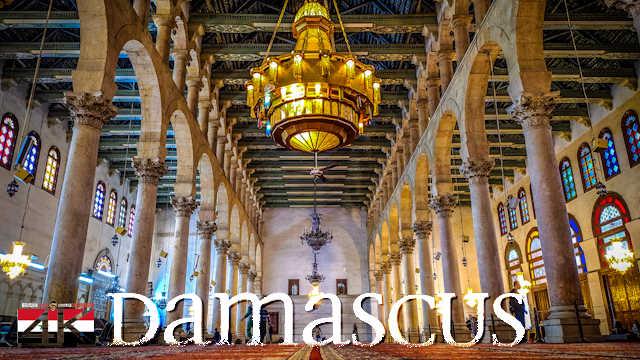 【4K】My Trip to Damascus - SYRIA 2020 | UltraHD Travel Video