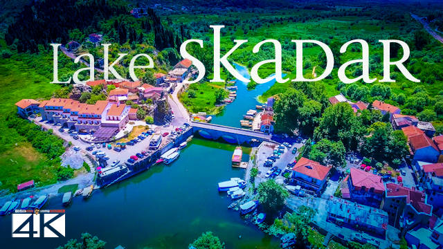 【4K】Lake Skadar from Above - MONTENEGRO 2020 | Cinematic Wolf Aerial™ Drone Film