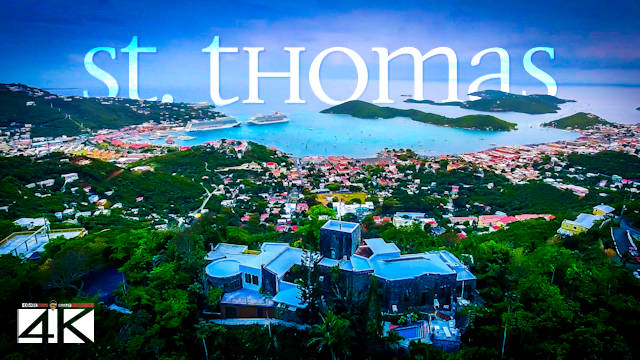 【4K】St. Thomas from Above - AMERICAN VIRGIN ISLANDS 2020 | Cinematic Wolf Aerial™ Drone Film