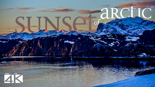 【4K】Qeqertarsuatsiaat from Above - GREENLAND 2020 | ARCTIC SUNSET Wolf Aerial™ Drone Film