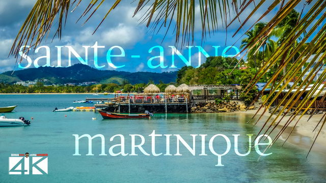 【4K】Beach of Sainte-Anne from Above - MARTINIQUE 2020 | Cinematic Wolf Aerial™ Drone Film