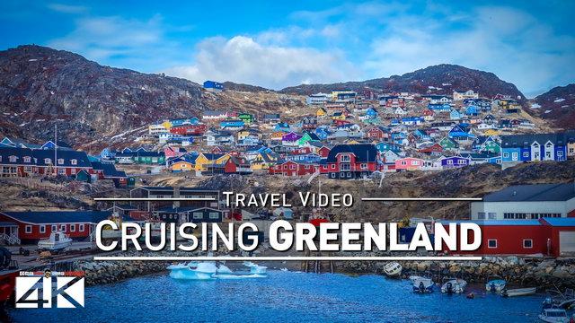 【4K】Footage | Cruising QAQORTOQ ..:: Greenland Arctic Circle 2018