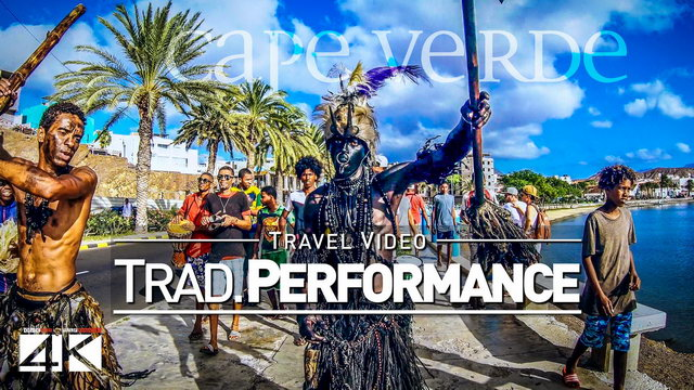 【4K】Traditional African Performance in Mindelo (Cape Verde) | 2020 | UltraHD Travel Video
