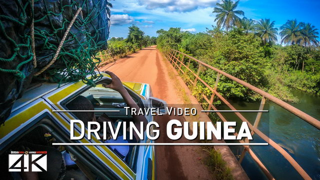 【4K】48 MINUTES | Driving Guinea (West Africa) | 2020 | Conakry | UltraHD Travel Video