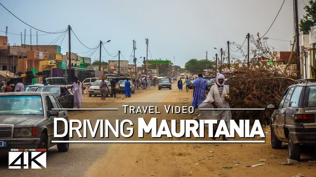 【4K】28 MINUTES | Driving Mauritania (West Africa) | 2020 | Nouakchott | UltraHD Travel Video