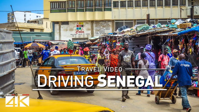 【4K】28 MINUTES | Driving Senegal (West Africa) | 2020 | Dakar | Saint-Louis | UltraHD Travel Video