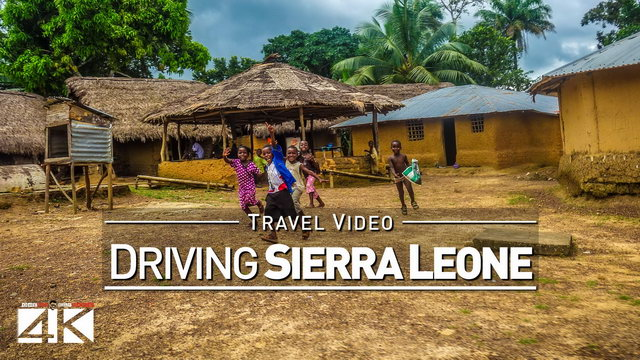 【4K】22 MINUTES | Driving Sierra Leone (West Africa) | 2020 | Freetown | UltraHD Travel Video