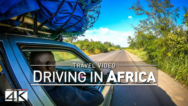 【4K】30 MINUTES | Driving around various Countries of Africa | 2020 | UltraHD Travel Video
