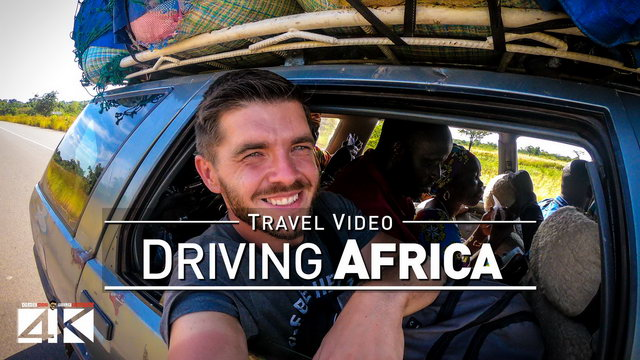 【4K】200 MINUTES | Driving around Africa | 2020 | UltraHD Travel Video