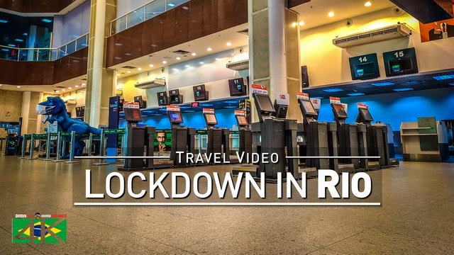 【4K】Virtual Walking Tour | LOCKDOWN Rio de Janeiro | Current Situation Corona Virus | Mid May 2020