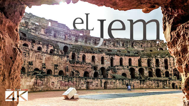 【4K】The Amphitheatre of El Jem (Tunisia) | 2020 | UltraHD Travel Video