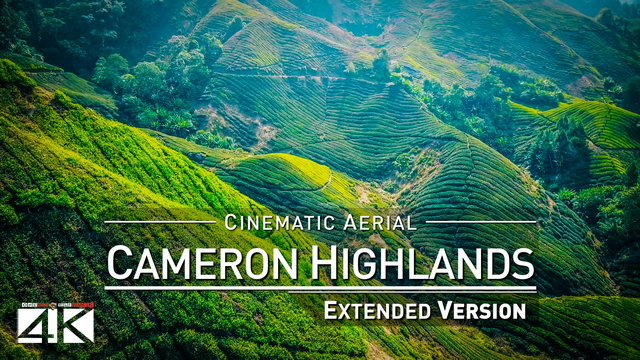 【4K】Drone Relax Travel Video | CAMERON HIGHLANDS ..:: Malaysias Natural Wonder 2019