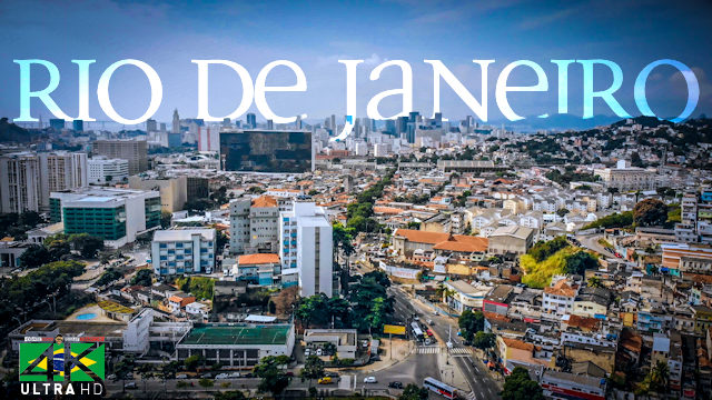 【4K】Lockdown in Rio de Janeiro - BRAZIL | June 4, 2020 | Cinematic Wolf Aerial™ Drone Film