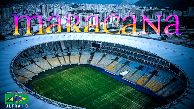 【4K】Maracanã | The Most Beautiful Stadium from Above | Cinematic Wolf Aerial™ Drone Film