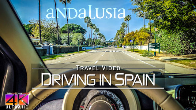 【4K】Driving around Andalusia Malaga (Spain) to Gibraltar | Amazing Views 2020 | UltraHD Travel Video