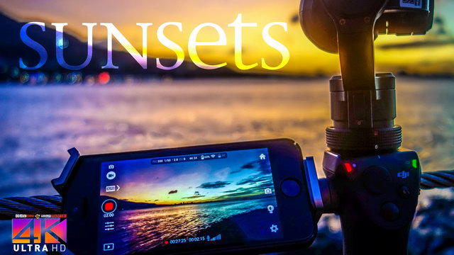 【4K】8 HOUR RELAX FILM: «Sunsets of the World» Ultra HD + Relaxation Music (for 2160p Ambient TV)