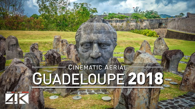 4K Drone Footage: 1 Minute in... GUADELOUPE [DJI Phantom 4]