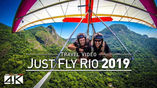 【4K】Drone Footage | JUST FLY RIO ..:: Hang Gliding in Rio de Janeiro 2019