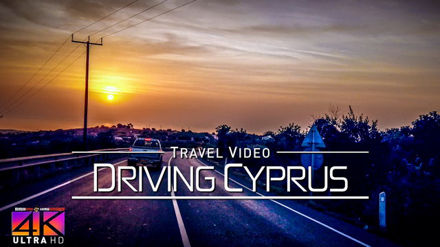 【4K】Driving around Cyprus (Mediterranean) | Spectacular Views 2020 | UltraHD Travel Video