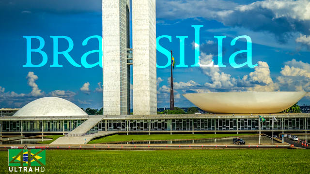 【4K】EXPLORE: «Brasilia - Capital of Brasil» | Brazil 2020 | UltraHD Travel Video
