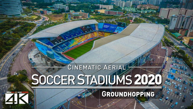 【4K】Drone Footage | SPECTACULAR STADIUMS ..:: Arenas Around The World 2019