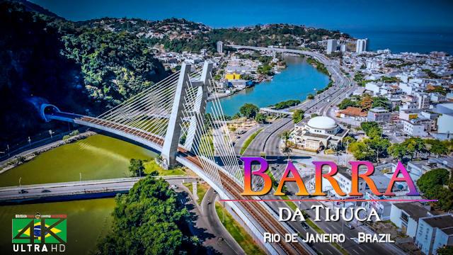 【4K】Barra da Tijuca from Above - RIO DE JANEIRO 2020 | Cinematic Wolf Aerial™ Drone Film