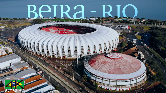 【4K】Estadio Beira-Rio from Above - BRAZIL 2020 | Internacional FC | Cinematic Wolf Aerial™ Drone