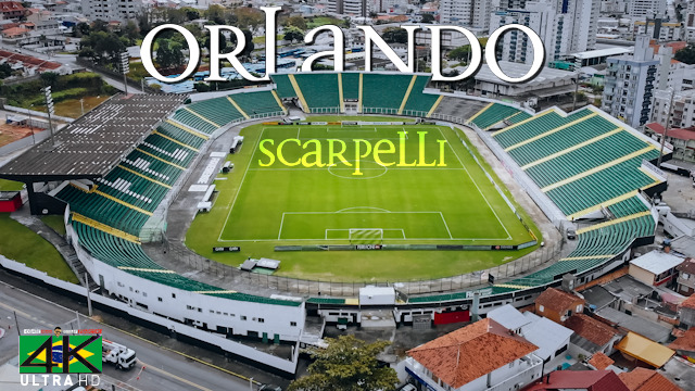 【4K】Estadio Orlando Scarpelli from Above - BRAZIL 2020 | Figueirense | Cinematic Wolf Aerial™ Drone