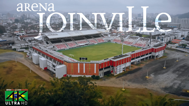 【4K】Arena Joinville from Above - BRAZIL 2020 | Esporte Clube | Cinematic Wolf Aerial™ Drone Film