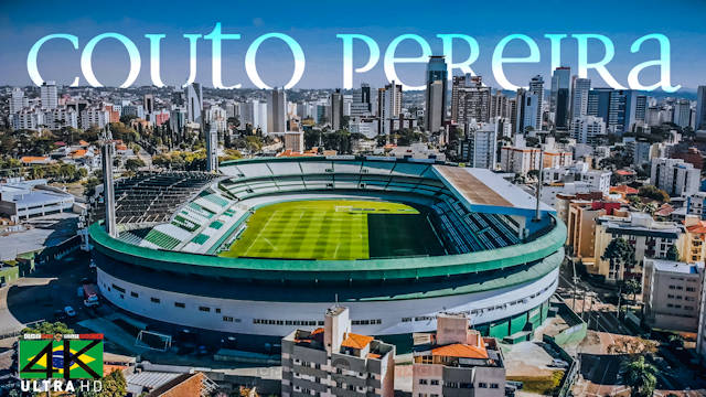 【4K】Estadio Couto Pereira from Above - BRAZIL 2020 | Coritiba FC | Cinematic Wolf Aerial™ Drone Film