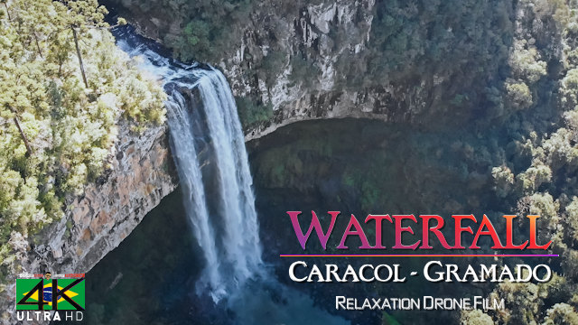 【4K】Caracol Falls from Above - BRAZIL 2020 | Canela, RS | Cinematic Wolf Aerial™ Drone Film