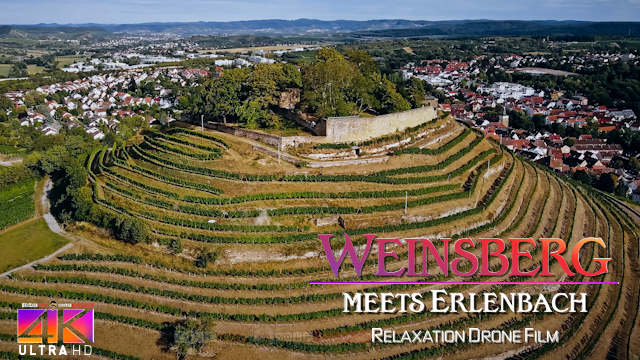 【4K】Erlenbach meets Weinsberg from Above - GERMANY 2020 | Cinematic Wolf Aerial™ Drone Film