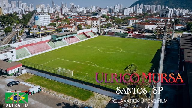 【4K】Estadio Ulrico Mursa from Above - BRAZIL 2020 | Santos, SP | Cinematic Wolf Aerial™ Drone Film