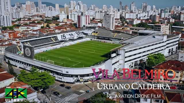 【4K】Vila Belmiro from Above - BRAZIL 2020 | Santos FC Stadium | Cinematic Wolf Aerial™ Drone Film