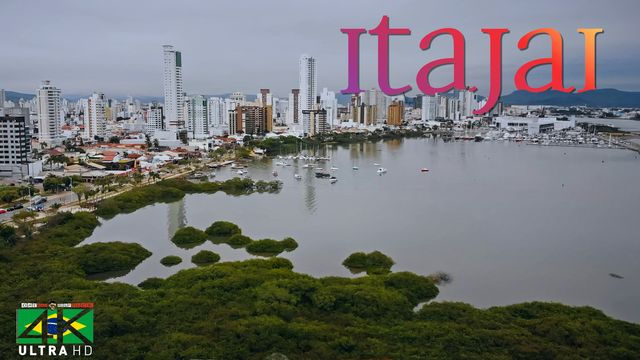 【4K】Itajai from Above - BRAZIL 2020 | Santa Catarina | Cinematic Wolf Aerial™ Drone Film