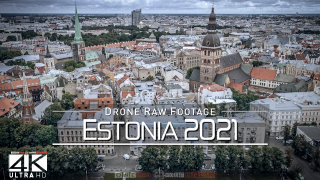 【4K】Drone RAW Footage | This is ESTONIA 2021 | Tallinn and More | UltraHD Stock Video