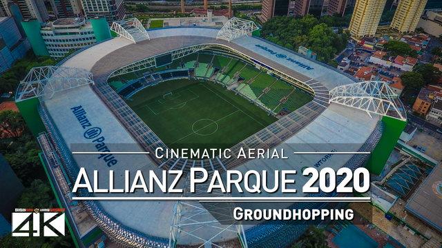 【4K】Drone Footage | ALLIANZ PARQUE Sao Paulo Palmeiras ..:: Spectacular Arenas 2019