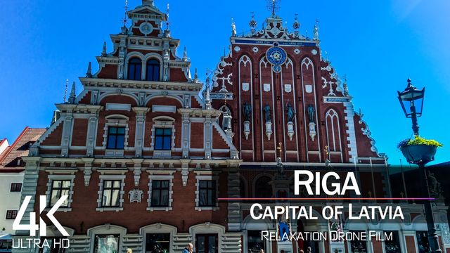 【4K】Riga from Above | Capital of LATVIA 2021 | Cinematic Wolf Aerial™ Drone Film
